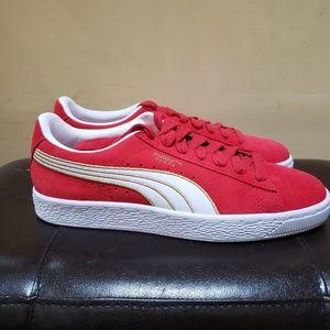 Puma Shoes - PUMA Women's Suede Varsity Sneaker 8